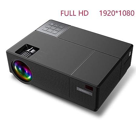 LICHUXIN Proyector, 4000 lúmenes 1920 * 1080P Mini LED LCD Tamaño ...