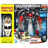Transformers Dark Of The Moon Exclusive Voyager Optimus Prime & Deluxe Comettor