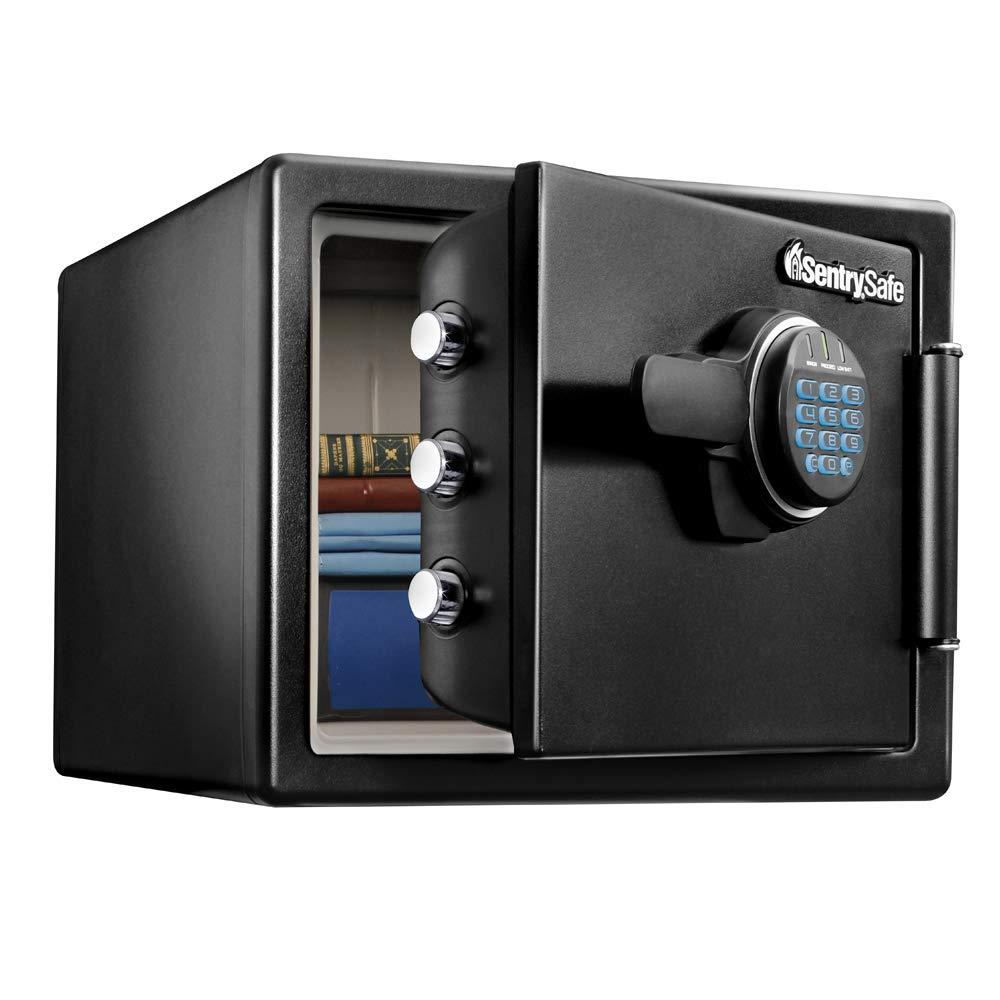 SentrySafe SFW082F Fireproof Waterproof Safe with Digital Keypad, 0.82 Cubic Feet by SentrySafe