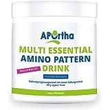 APOrtha Multi essential Amino Pattern Drink | 8 essentielle Aminosäuren | 400g Pulver (Waldfrucht Geschmack)