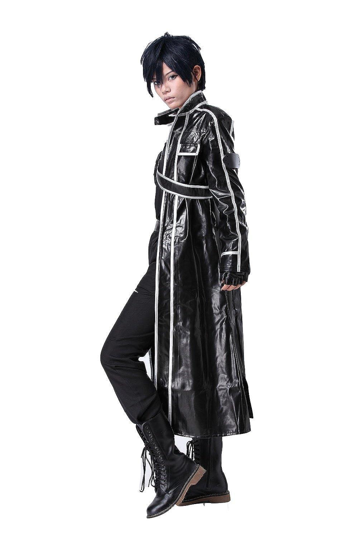Amazon.com: Kirito cosplay trajes de disfraces para Anime ...