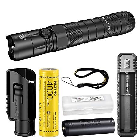 Nitecore P12 1200 lúmenes linterna táctica con batería ...