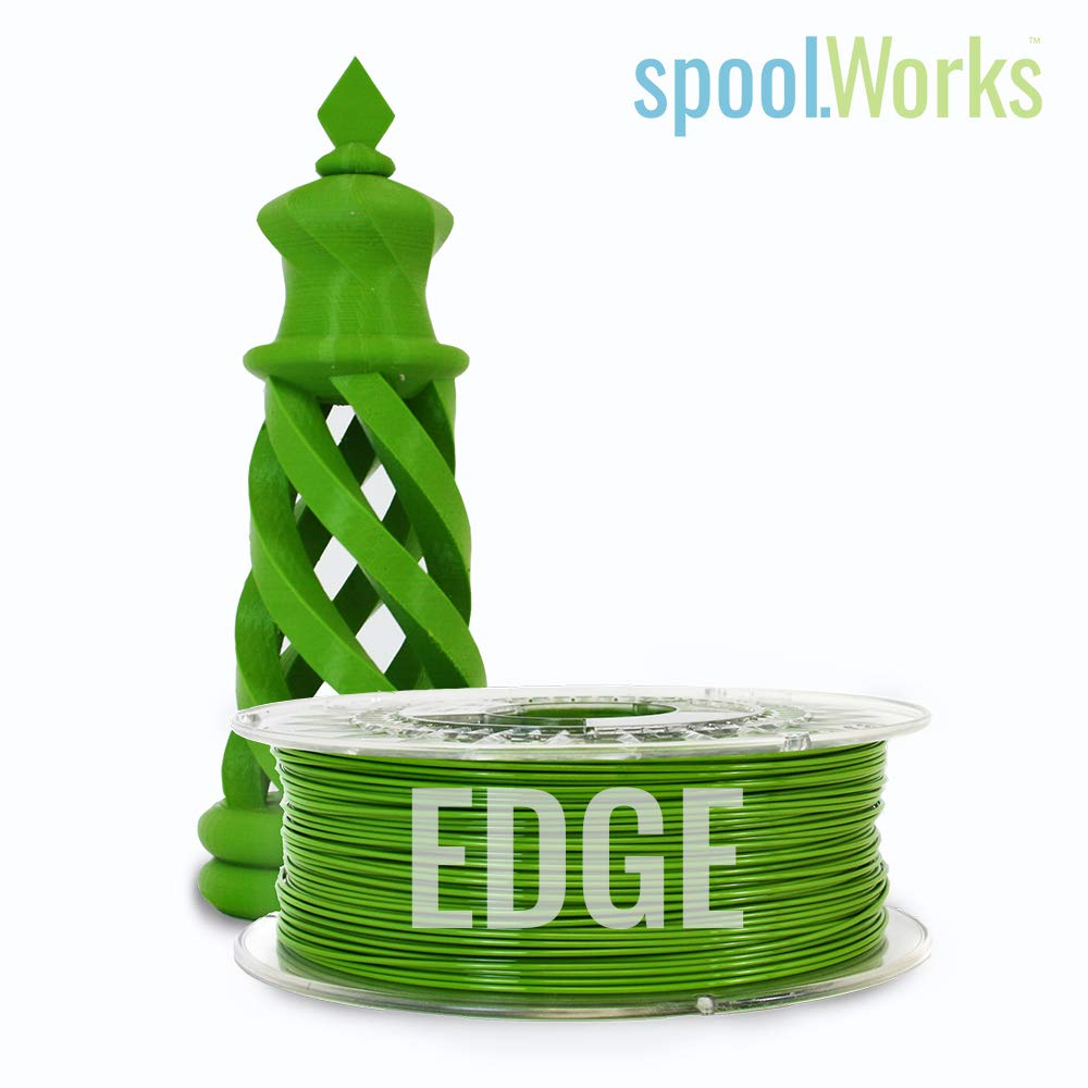 1.75mm, Limey Lime E3D spoolWorks Edge Filament