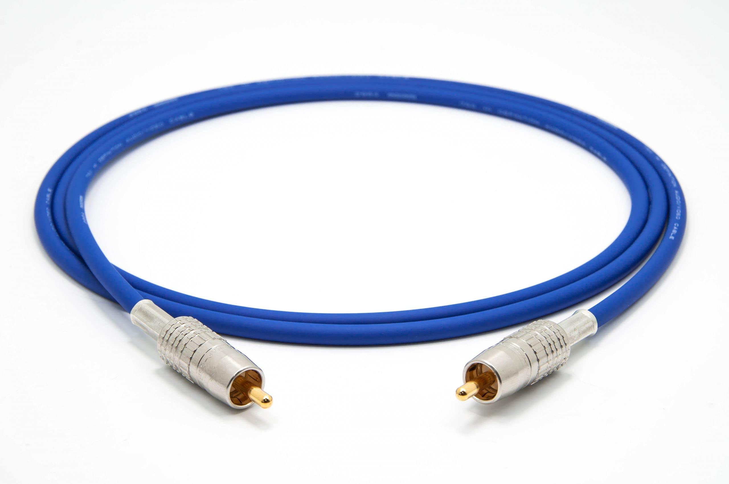Mogami 2964 Digital Coaxial Cable 75 Ohm S/PDIF | Canare Gold RCA | HiFi - 3.0 m
