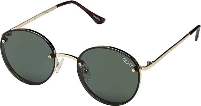 830aeb555ac Image Unavailable. Image not available for. Color  QUAY AUSTRALIA Women s  Farrah Gold Green One Size