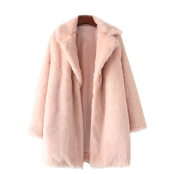 Abrigos piel sintetica en amazon