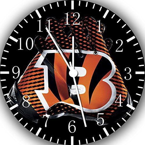 Bengals Frameless Borderless Wall Clock F122 Nice for Gift or Room Wall Decor