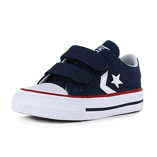 Converse - Starplayer 2 Velcro Shoes In Navy White  b04dc7f37
