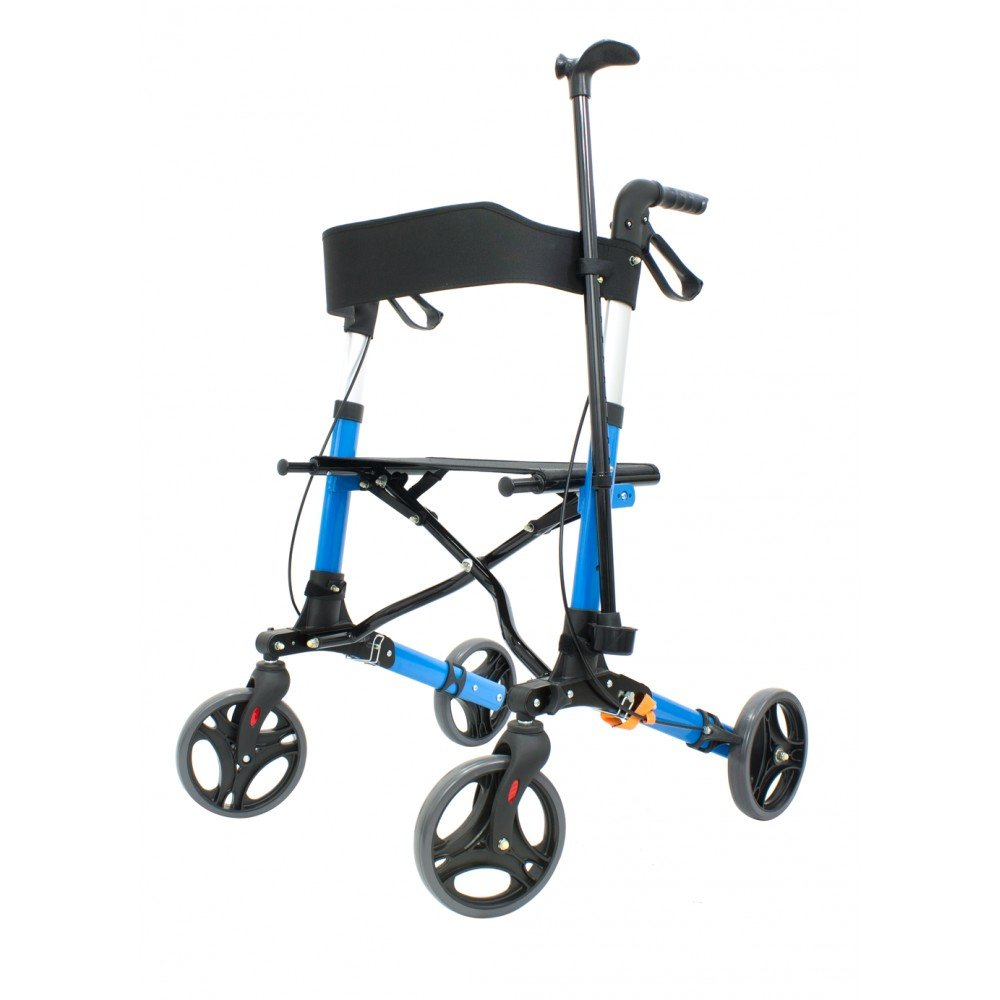 Andador con ruedas plegable para ancianos