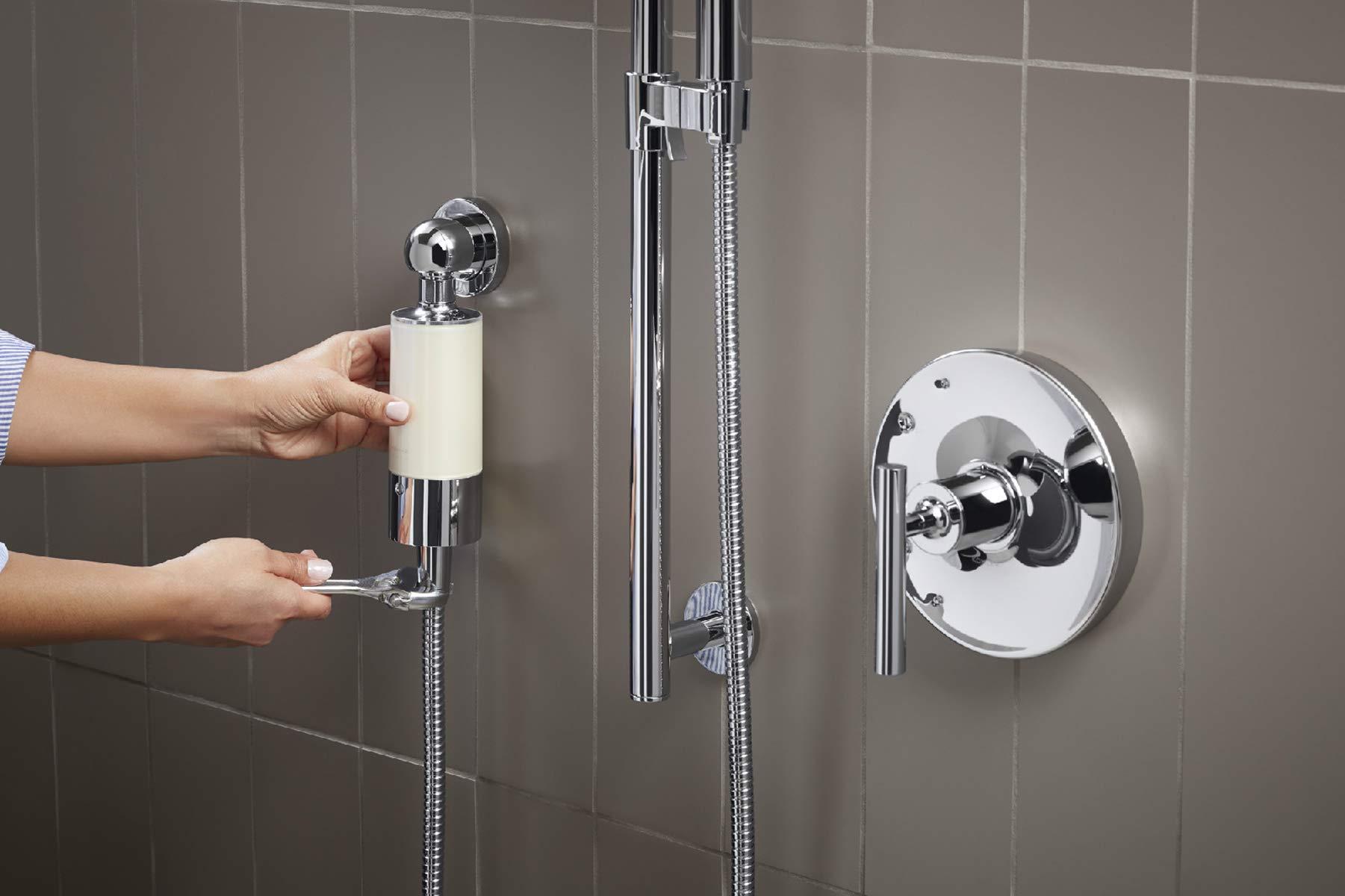 Kohler 30646-CP Aquifer Shower Water Filtration System, Reduce Chlorine and Odor, Includes Filter Replacement by Kohler (Image #16)