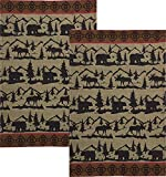 Great Outdoors Cotton Jacquard Towel - Set of 2