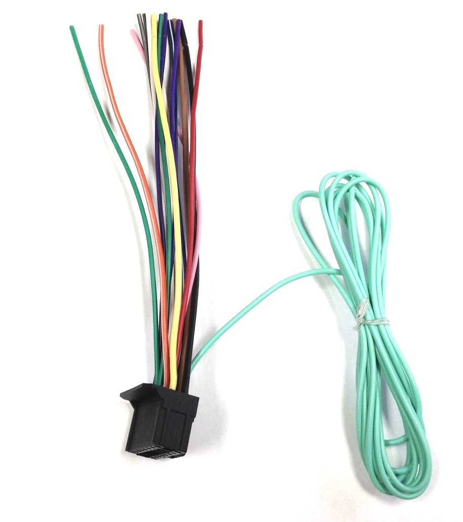 61YcoloRzOL._SL1030_ amazon com pioneer power cord harness speaker plug for dvd pioneer avh-p8400bh wiring harness at webbmarketing.co