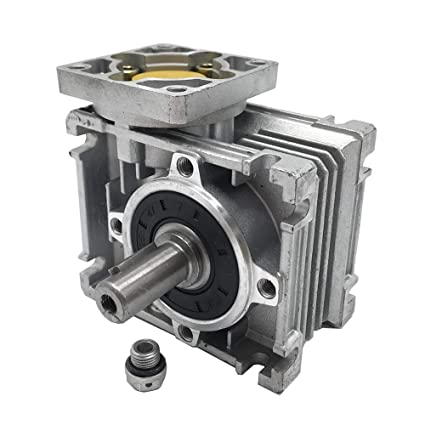 Ratio 20:1 Worm Gear Speed Reducer NEMA23 Stepper Gearbox for Stepper Motors