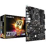 GIGABYTE Z370P D3 (Intel LGA1151/ Z370/ ATX/M.2/ GbE LAN with 25KV Protection/RGB Fusion/Smart Fan 5/ USB 3.1/ ALC887/ HDMI/Anti-Sulfur Resistors/Motherboard)