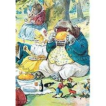 Hippo Eating Pie - Birthday Greeting Card
