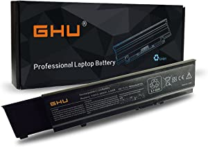 New GHU 9-Cell Battery 87 WH Replacement for R5PJR Y5XF9 7FJ92 4JK6R 04D3C CYDWV TXWRR 312-0997 312-0998 004D3C 004GN0G 04GN0G 04JK6R 07FJ92 TY3P4 Compatible for Vostro Laptop 3400 3500 3700