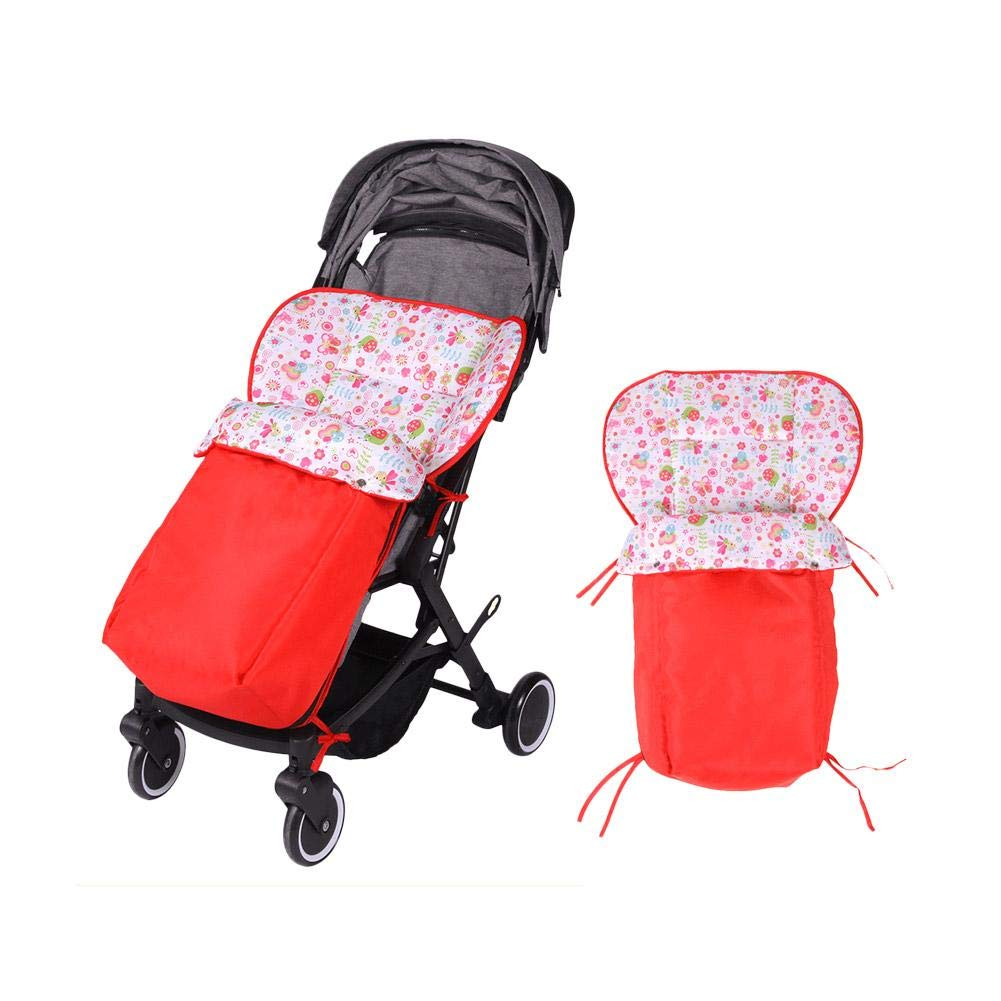 Stroller Sleeping Bag Versatile Stroller and Car Seat Footmuff Foot Cover Wind and Water-Resistant foreverwen