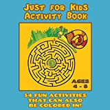 Best Books For Six Year Old Girls - Just for Kids Activity Book Ages 4 to Review
