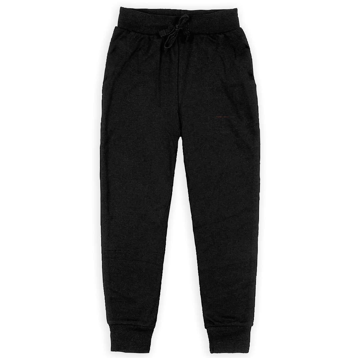Kim Mittelstaedt Rock /& Rolle Boys Big Active Basic Casual Pants Sweatpants for Boys Black