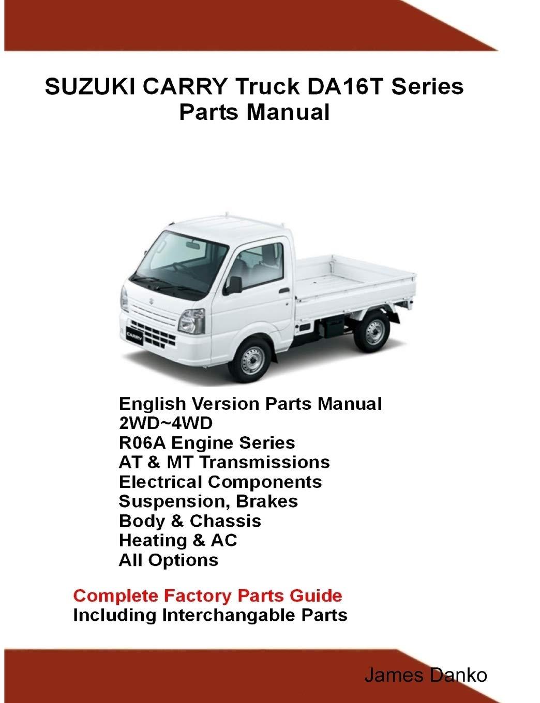 suzuki carry truck da16t series parts manual: amazon.de: danko, james:  fremdsprachige bücher  amazon.de