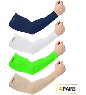 Outdoor Arm Warmer Half Finger Sleeves Long Gloves Sun Uv Protection Hand Protector Cover Arm Sleeves Ice Silk Sunscreen Sleeves Selling Well All Over The World Apparel Accessories Men's Accessories
