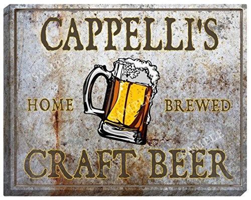 cappellis-craft-beer-stretched-canvas-sign-16-x-20