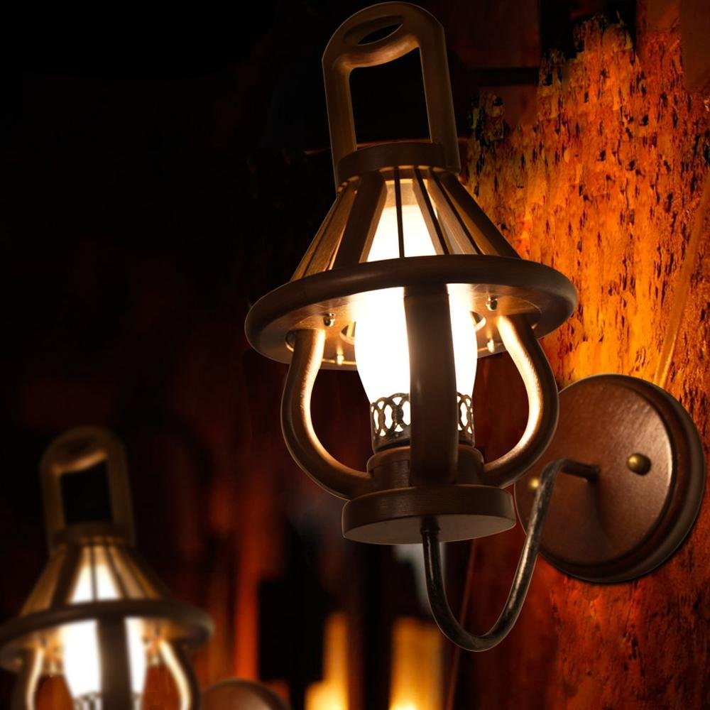 Wandleuchten Studie schlafzimmer bett Retro Leuchten Wandleuchten