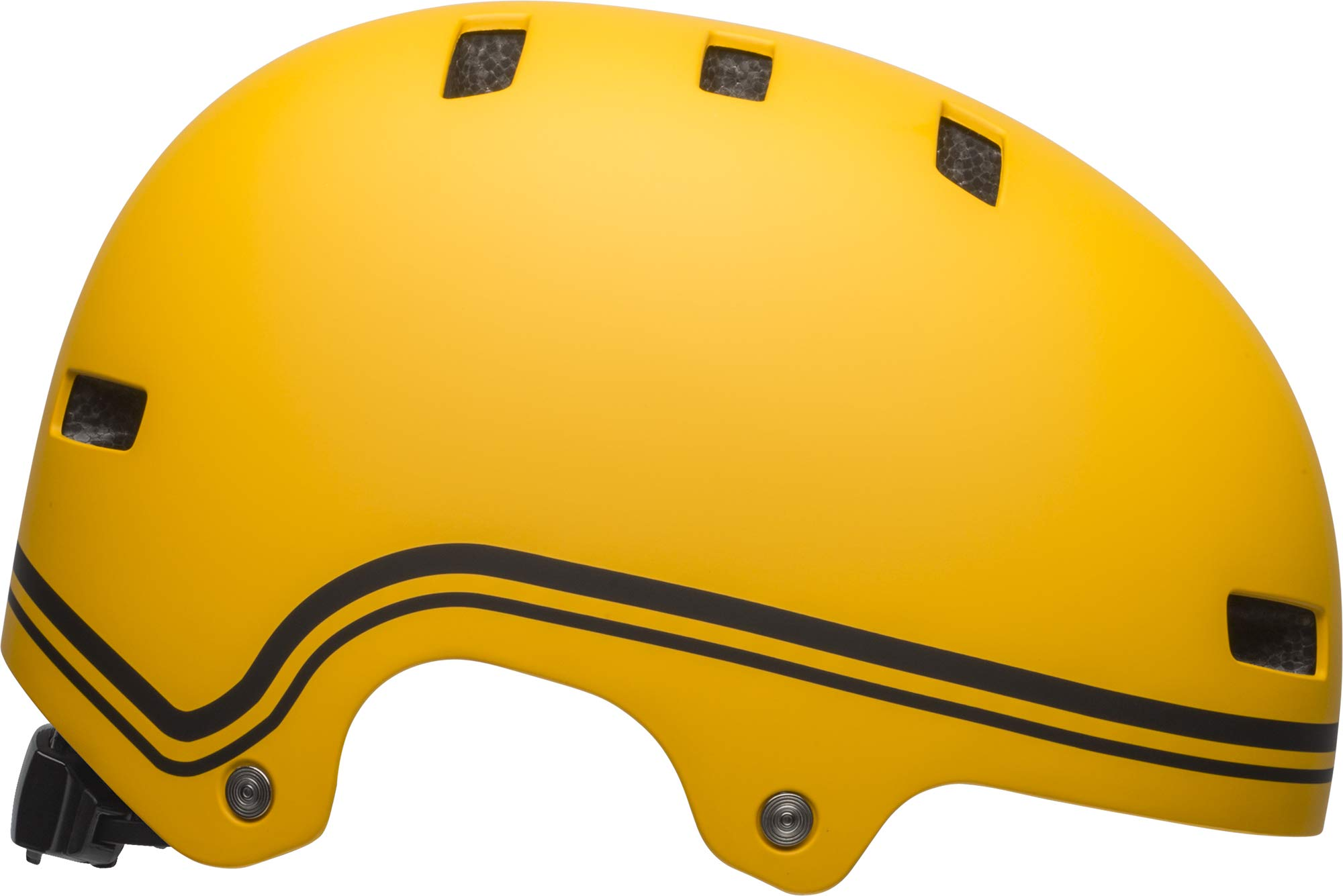 Bell Local Adult BMX & Skate Helmet (Classic Matte Yellow/Black (2019), Small)