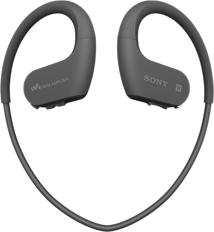 Sony NW-WS623 Walkman  - Reproductor de MP3 Deportivo (Resistente al Agua y al Polvo con Tecnología Inalámbrica Bluetooth), color Negro
