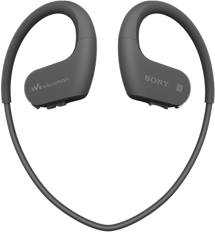 Sony NWWS623 Walkman  - Reproductor de MP3 deportivo (resistente al agua y al polvo con tecnología inalámbrica BLUETOOTH), Negro
