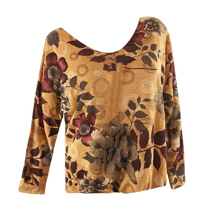 ba925211dc66f Vectry Blusas De Mujer Oferta Camiseta Mujer Verano Camisetas Chica  Originales Camisetas Adolescentes Chicas Camiseta De Manga Larga Blusa con  Escote ...