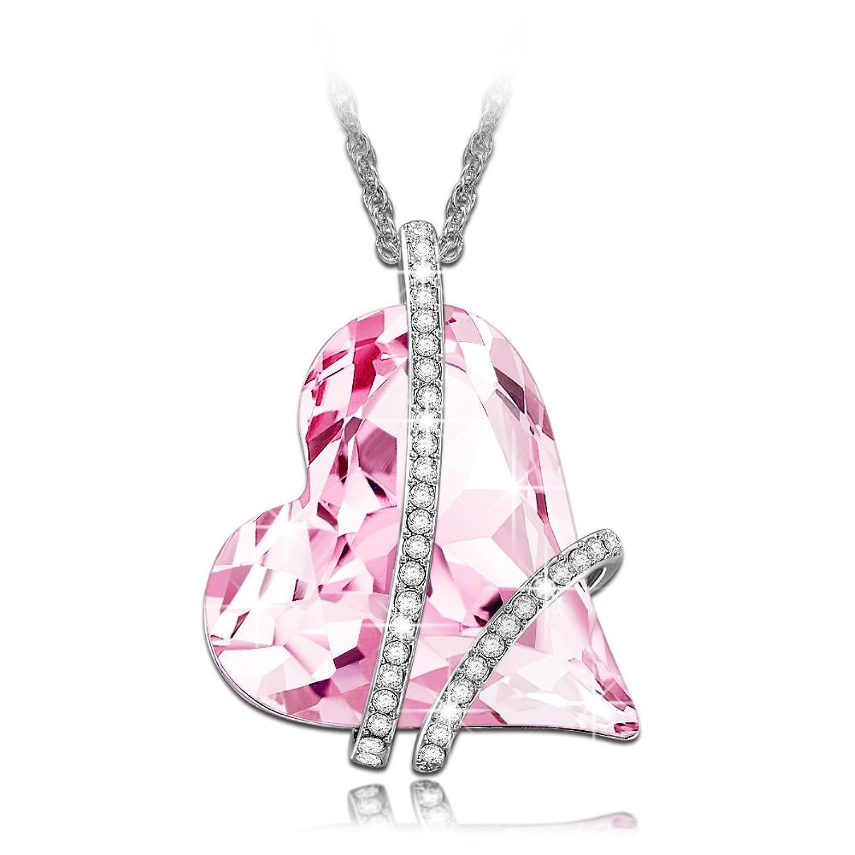 LADY COLOUR Promesa Collar mujer con cristales de SWAROVSKI® la coleccion Corazon