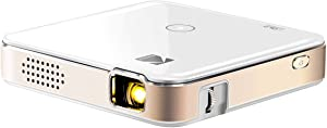 """KODAK Luma 150 Pocket Projector - Portable Movie Projector w/ Built-in Speaker for Home & Office Produces Images Up to 150"""" for Anywhere Entertainment 