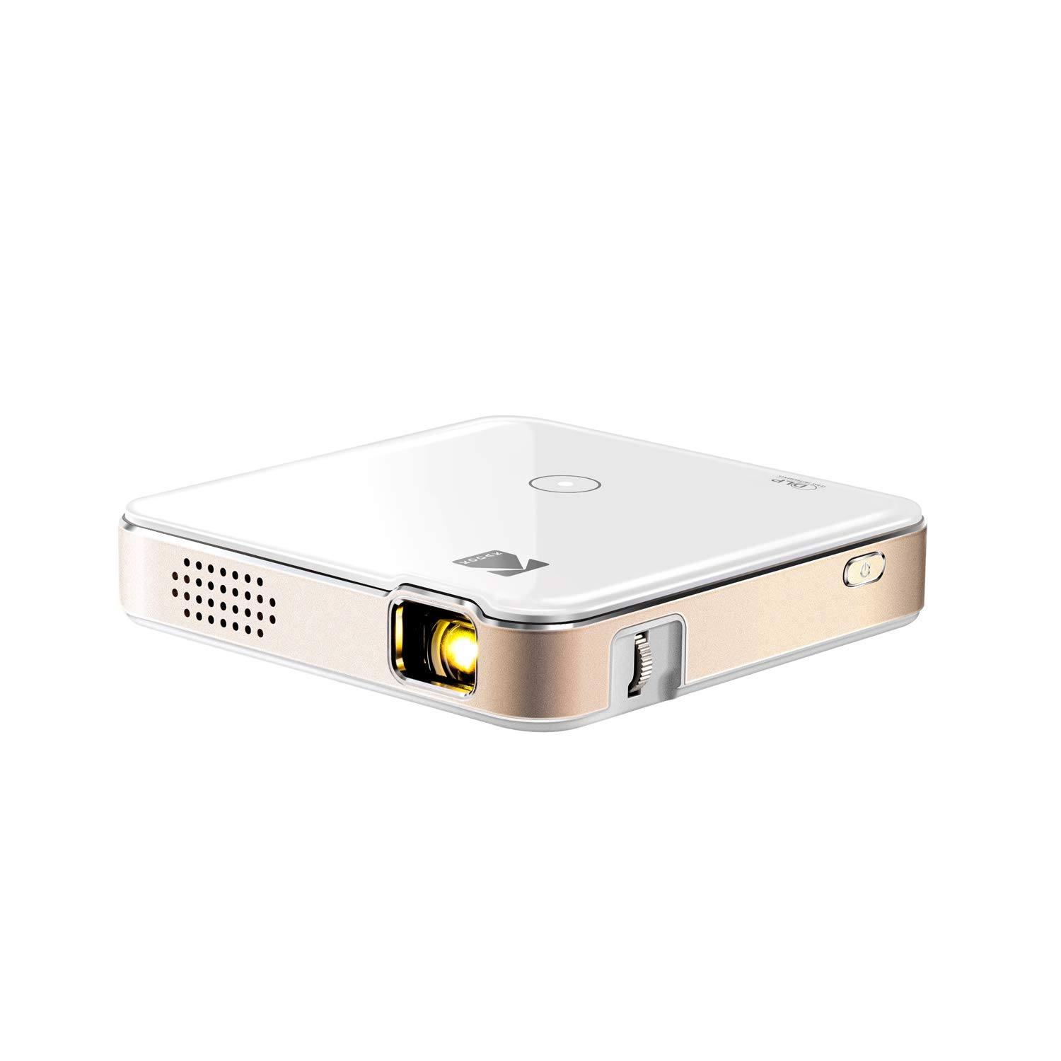 KODAK Luma 150 Pocket Projector - Portable Movie Projector w/ Built-in Speaker for Home & Office Produces Images Up to 150'' for Anywhere Entertainment   HDMI, USB, MicroSD, Airplay & Miracast Enabled by KODAK