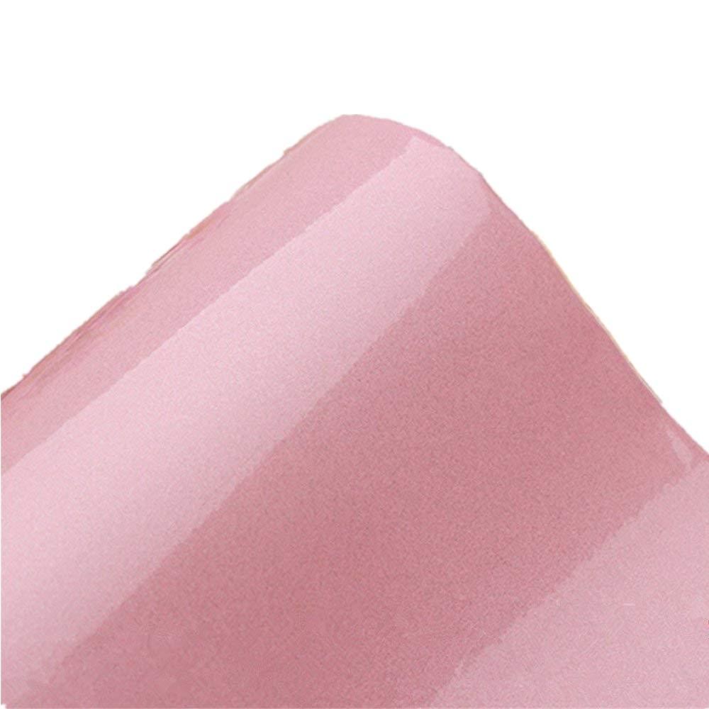 Papel adhesivo para muebles, de Yizunnu, para cubrir muebles y armario de cocina, 61 x 250 cm, vinilo, Rosa, 24x98 Inch Z11SB6