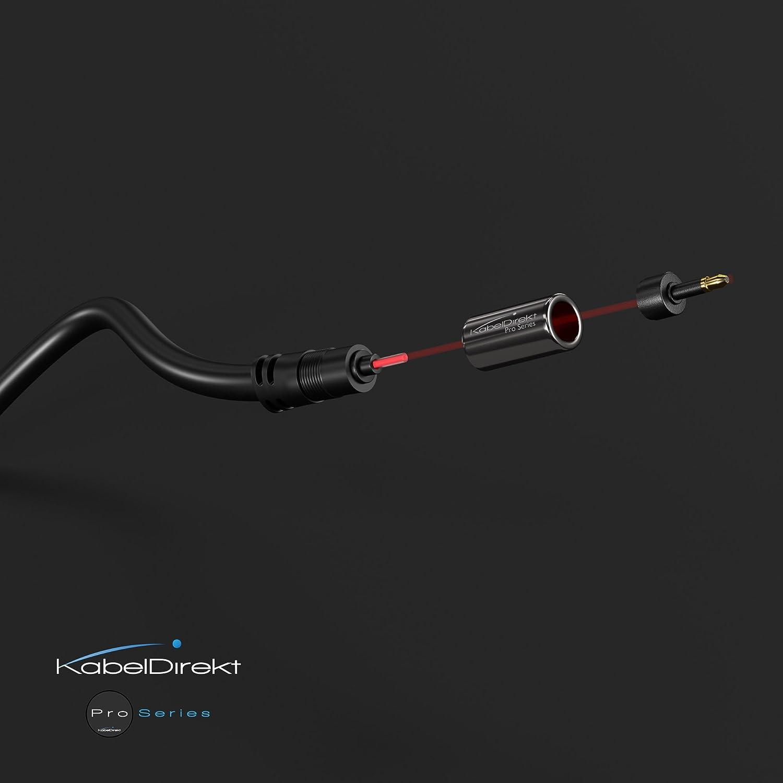 Mini TOSLINK Kabel 3m - - PRO Series Optisches TOSLINK  Mini TOSLINK KabelDirekt