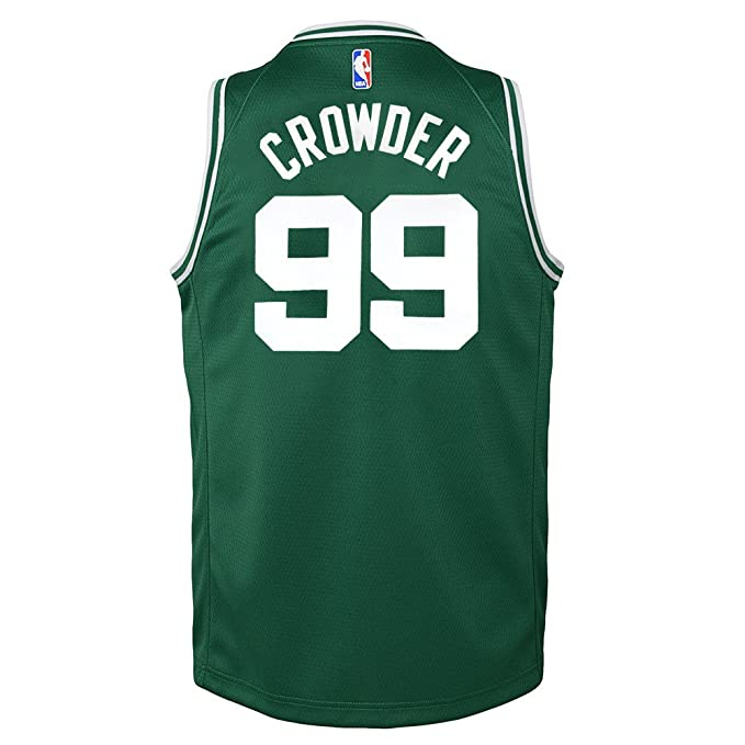 Nike Jae Crowder Boston Celtics Green Icon Swingman Jersey Youth (S-XL)   Amazon.co.uk  Sports   Outdoors 8f13171cd