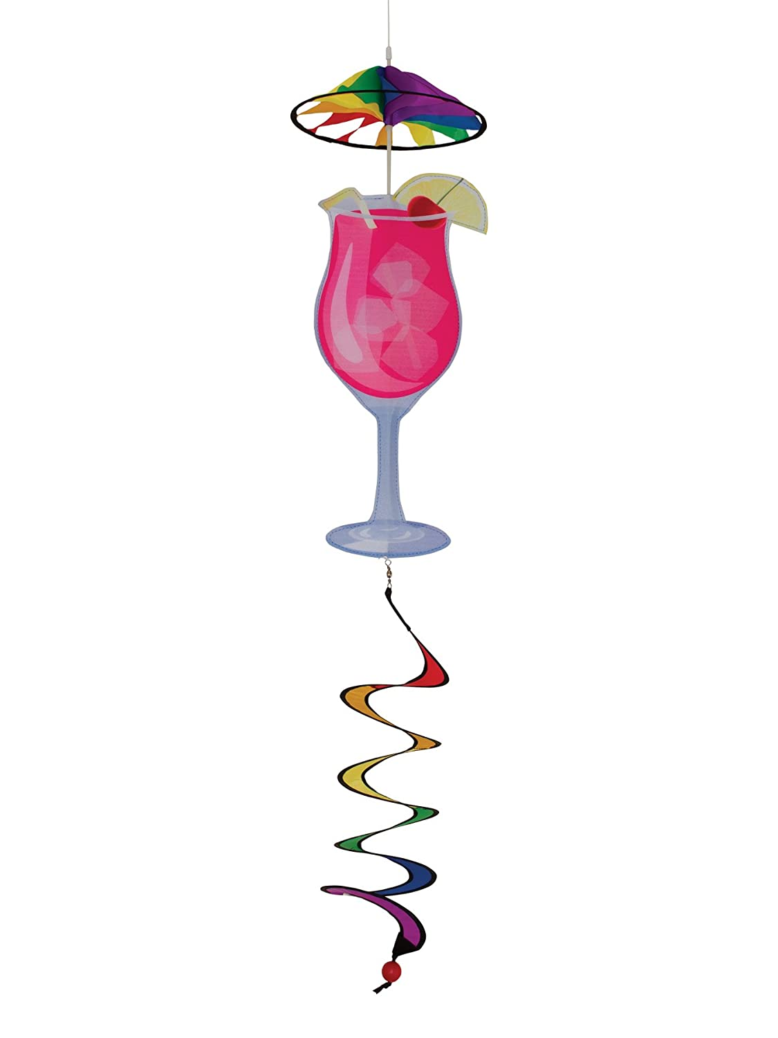 (Pink Cocktail) - In the Breeze It's 5 O'Clock Everywhere Pink Cocktail Drink Spinner B000X1QT2O Pink Cocktail