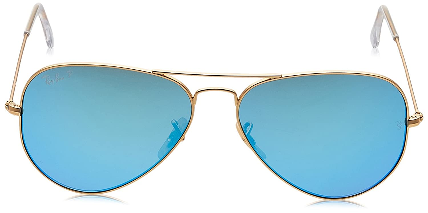 dbe6c2518872 Ray-Ban Aviator Sunglasses (Gold) (RB3025-112/4L): Ray-Ban: Amazon.in:  Clothing & Accessories