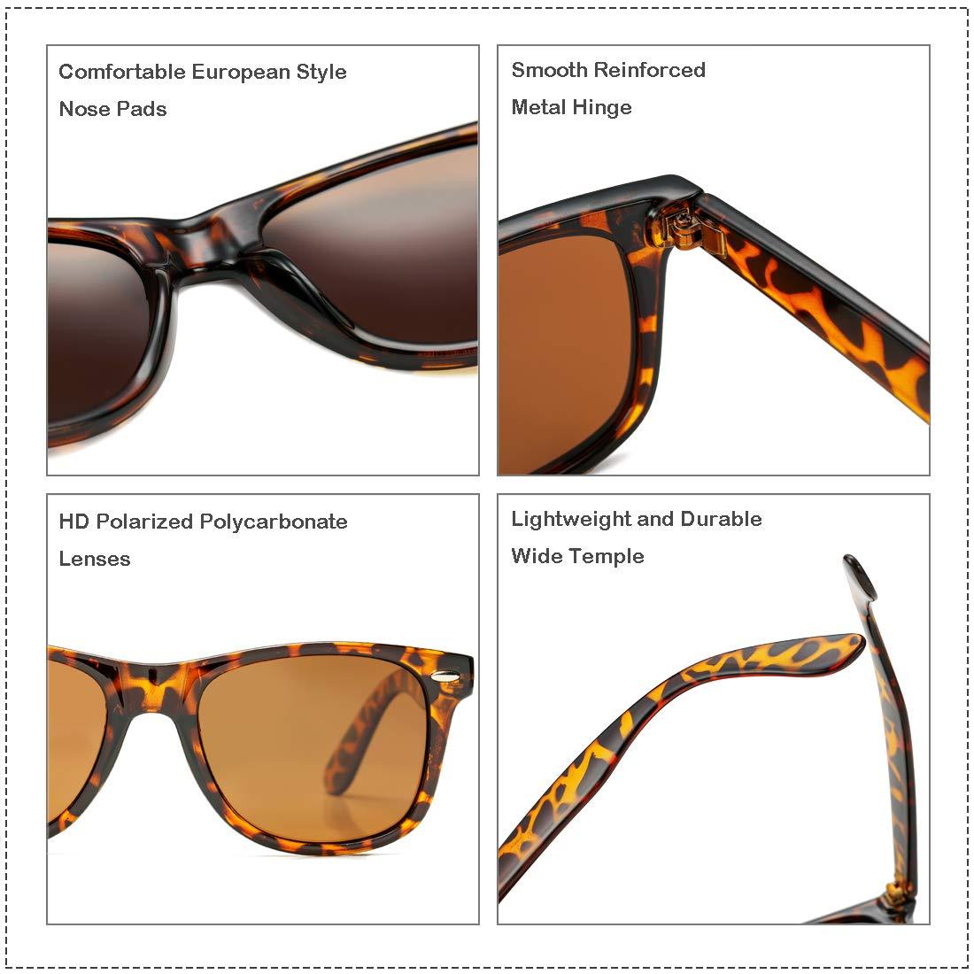 Amazon.com: Cosion - Gafas de sol polarizadas clásicas para ...