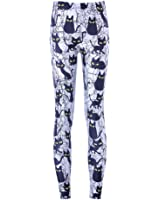 Sunling Stretchy Cute Cat Compression Leggings Pants Tights for Women M-3XL