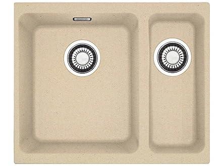 Franke cubo KBG 160 Beige Granit lavabo da incasso vasca LAVELLO ...