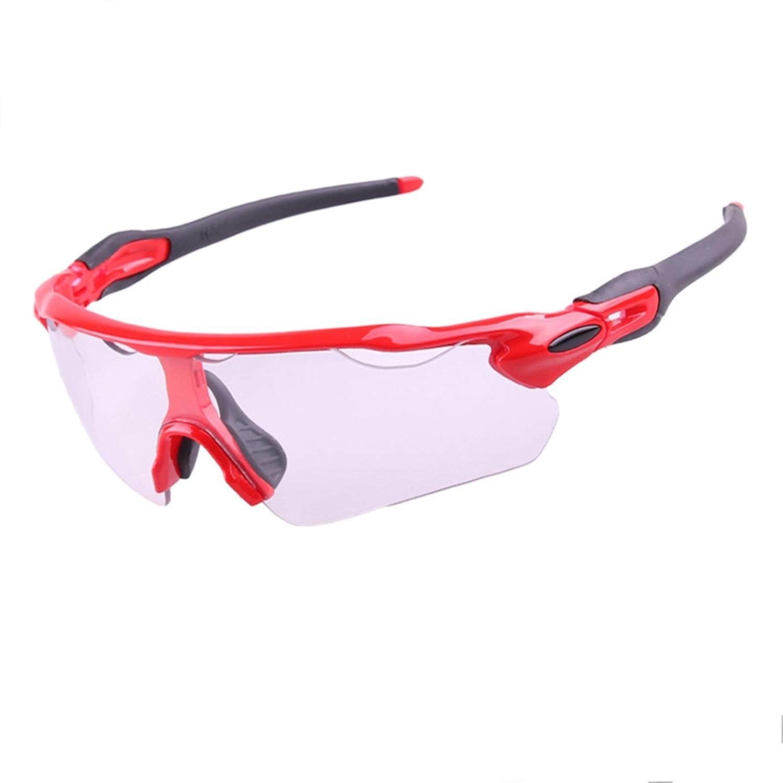 Lafeil Sportbrille Fahrrad Damen Herren Die Farbe Radfahrende Gläser Ändert Trägt Fahrrad Mountainbike Windschutzscheiben Sonnenbrille Im Freien Zur Schau