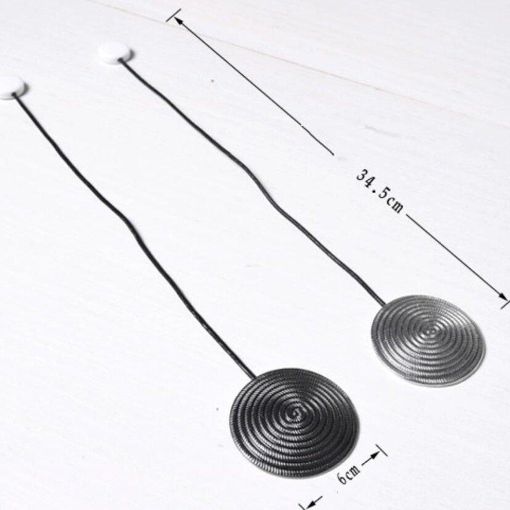 Baoblaze 2er Set Magnetischer Raffhalter Gardinenhalter
