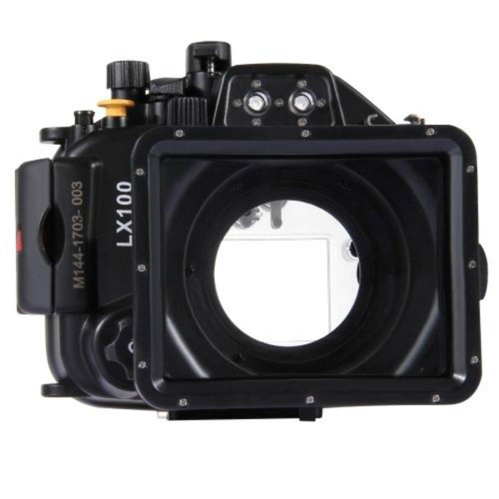 yunchengheアンダーウォーターUnderwaterのハードケース、lx100カメラケース水中のカメラ40 M / 130 ft   B078MN217S