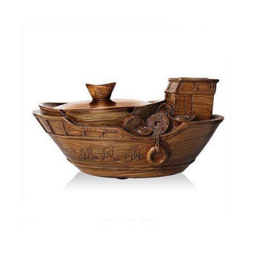 Xuan - worth having Cirage décoratif rétractable de cirage en résine à motif de voile