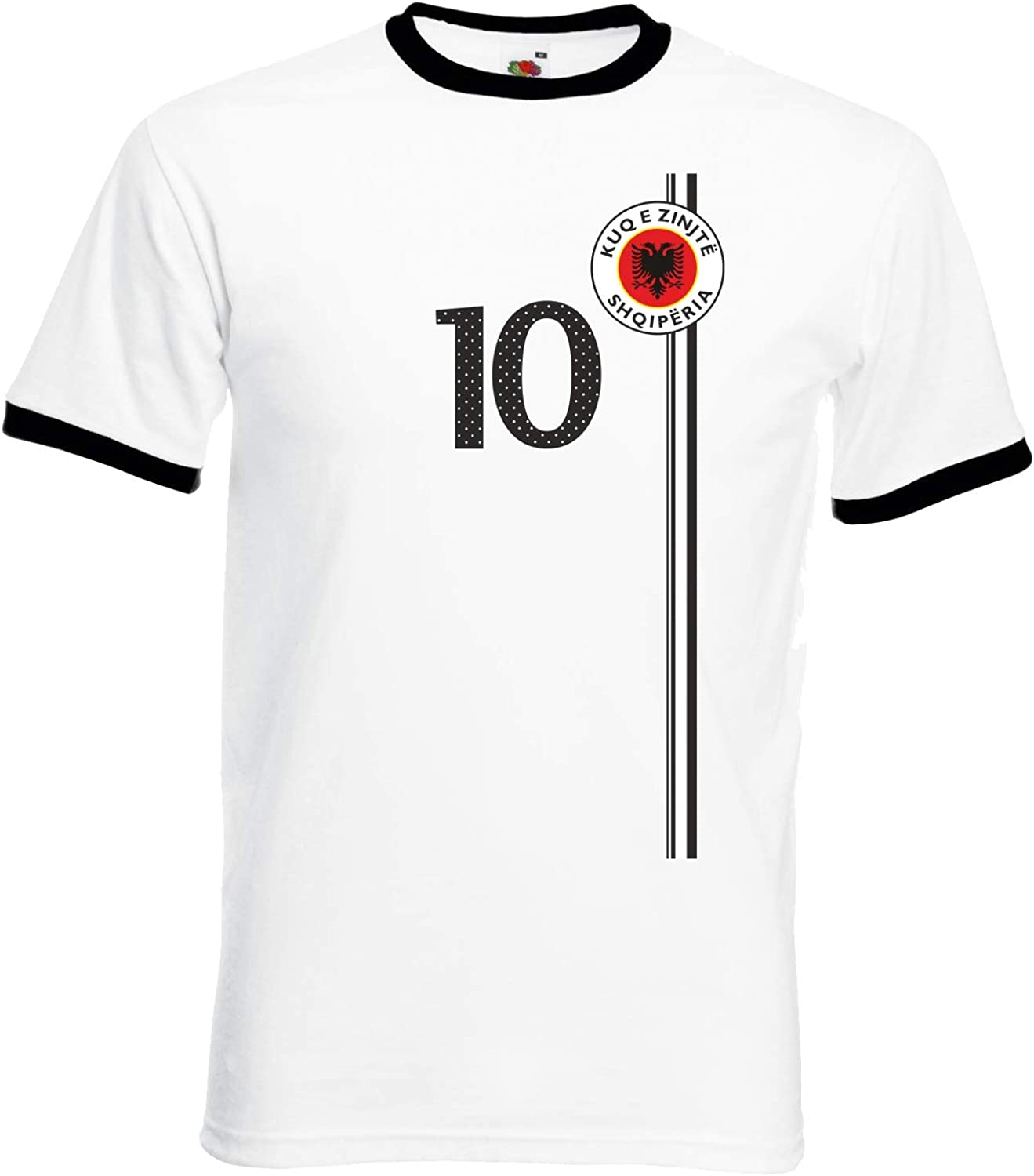 aprom Albania Football t-Shirt in Shirt Look ST-1 Ringer ws