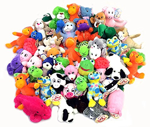 "Small Plush Toy Mix (7-9"") 100 Pc.- $1.45 ea. from Varies"