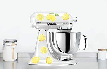 Amazon Com Watercolor Lemon Kitchen Mixer Decals Watercolor Fruit