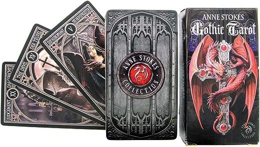 Anne Stokes Gothic Tarot Cards by Nemesis: Amazon.es: Juguetes y juegos